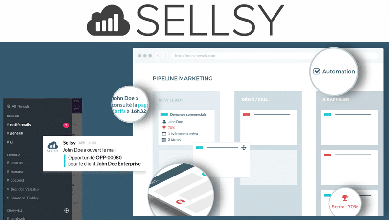 Sellsy gestion commerciale collaborative et mobile