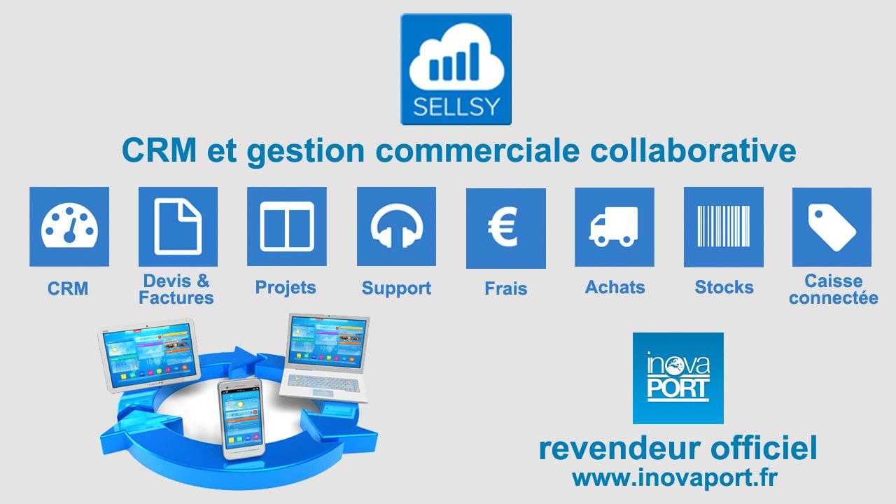 Sellsy solution de gestion commerciale efficace, adaptée à votre métier par Inovaport