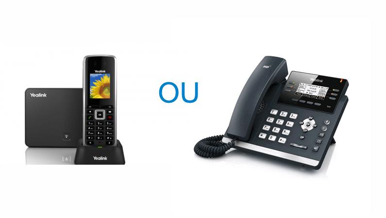 Un vrai combiné téléphonique avec Voxity