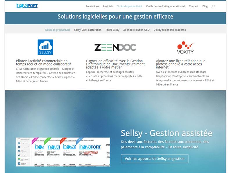 Site et blog Inovaport.fr