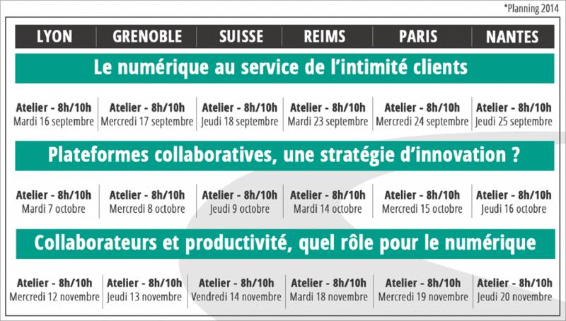 Atelier Smart Enterprise Club – Le numérique au service de l'intimité clients