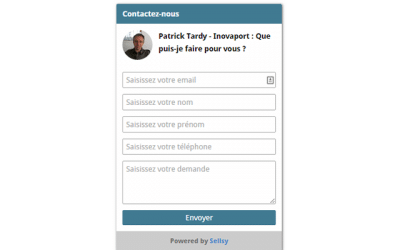 Sellsy Widget : l'assistant Support et CRM que votre site web attendait