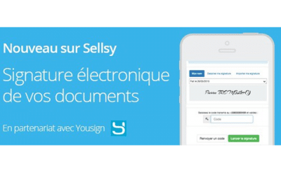Yousign + Sellsy : Signature électronique de vos documents