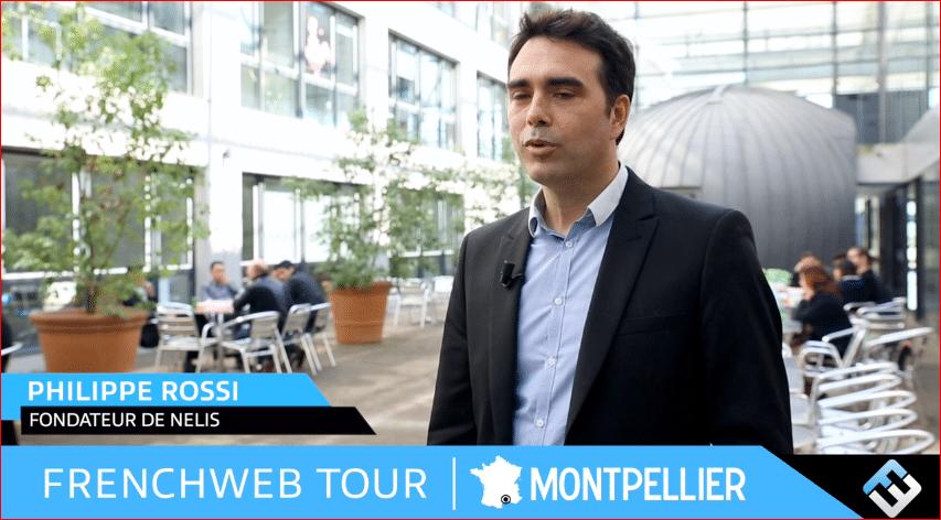 Philippe Rossi présente Nelis pour FrenchWeb en 2014