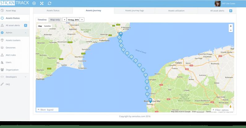 Tracking sur terre et en mer