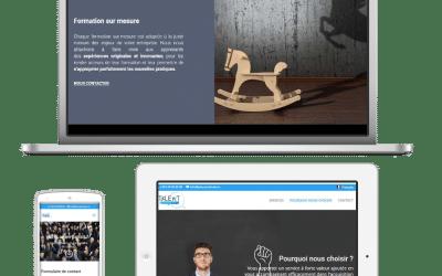 Talent Attitude fait confiance à Inovaport pour son site web