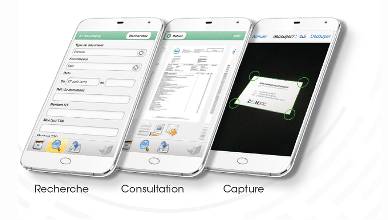 Zeendoc Pour Smartphone Accedez A Vos Dossiers En Mobilite