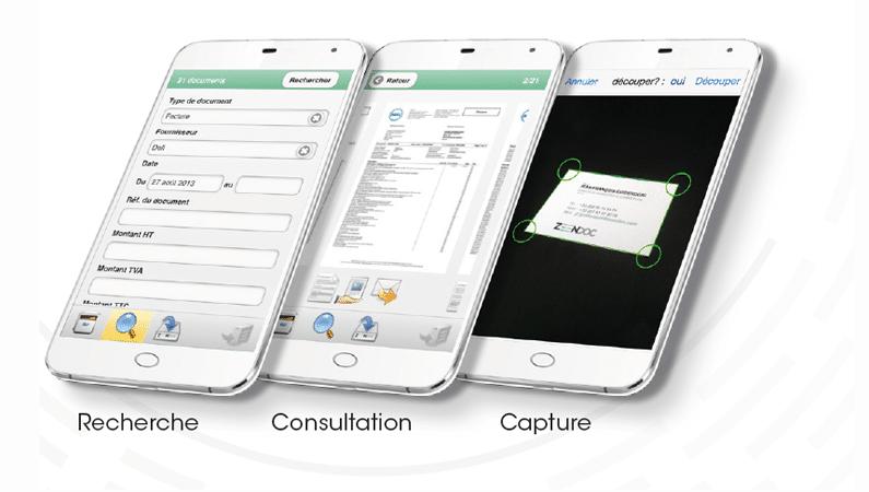Zeendoc Pour Smartphone Accedez A Vos Dossiers En Mobilite Inovaport