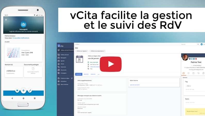 vCita facilite la gestion et le suivi des RdV