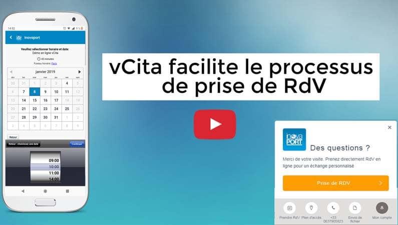 vCita facilite le processus de prise de RdV