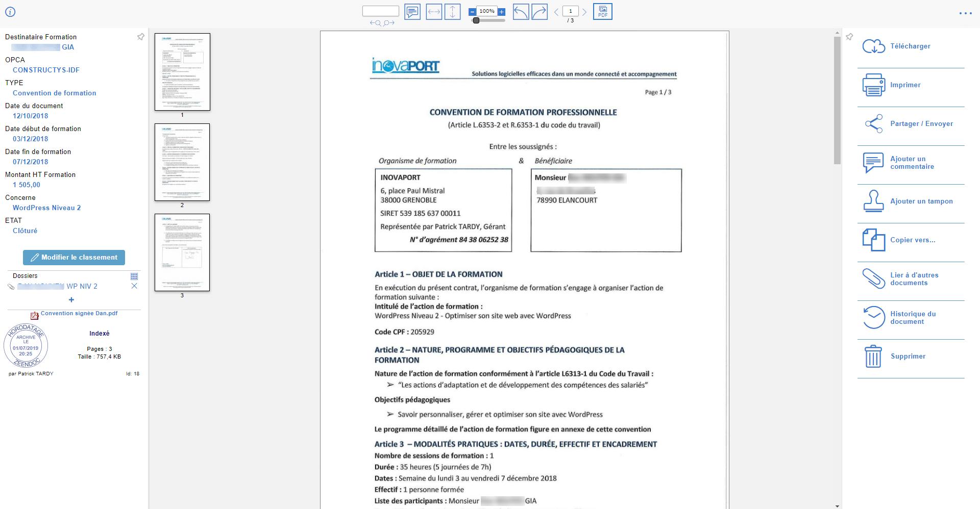 Accès complet aux documents avec Zeendoc