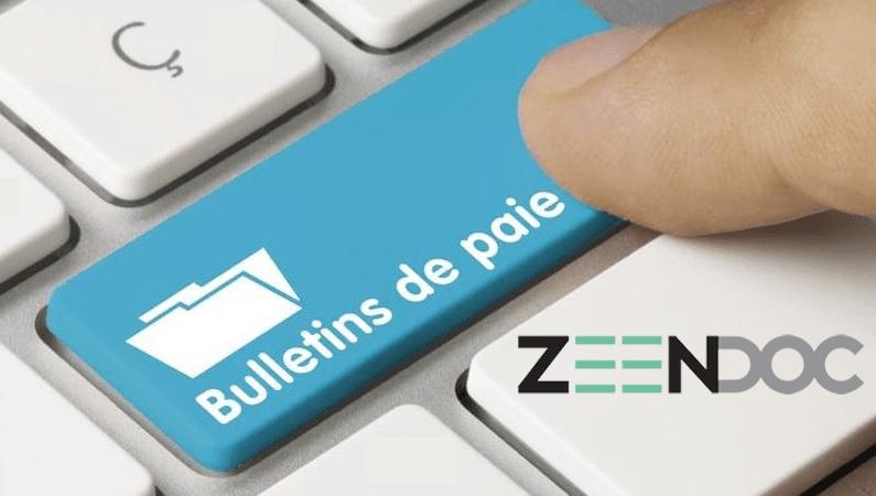 Le bulletin de salaire électronique avec Zeendoc