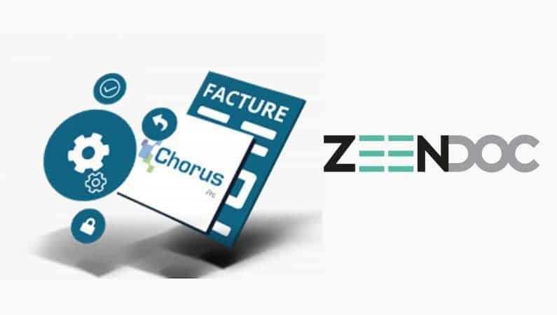 Facture électronique avec Zeendoc