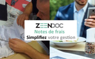 Simplifiez la gestion des notes de frais avec Zeendoc