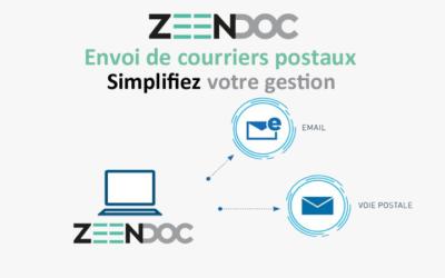 Dématérialisation de l'envoi de courrier avec Zeendoc