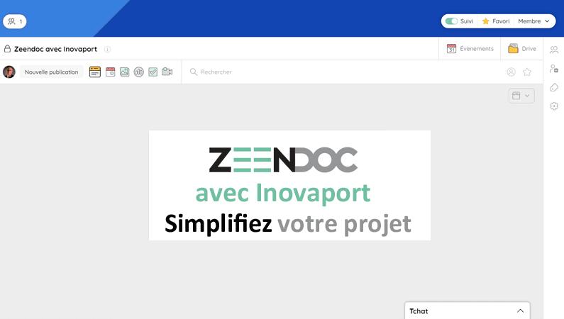 Distributeur Zeendoc : Inovaport vous accompagne où que vous soyez