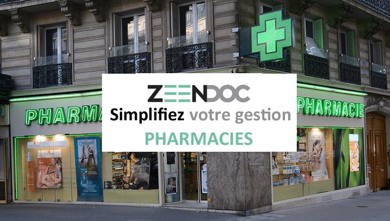 Le logiciel Zeendoc simplifie la gestion des pharmacies